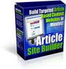 Article site Builder with Master Resale Rights