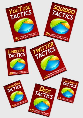 Product picture  350 Social Media Tactics -Master Resale Rights - NEW
