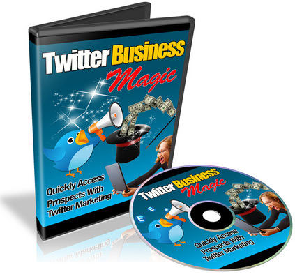 Product picture Twitter Business Magic Video Course With Resale Rights