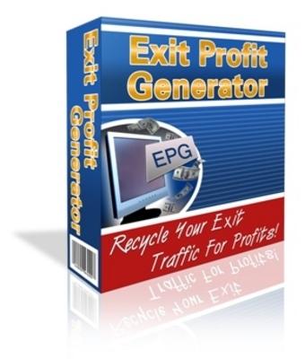 Product picture Exit Profit Generator version 2 (Mrr)