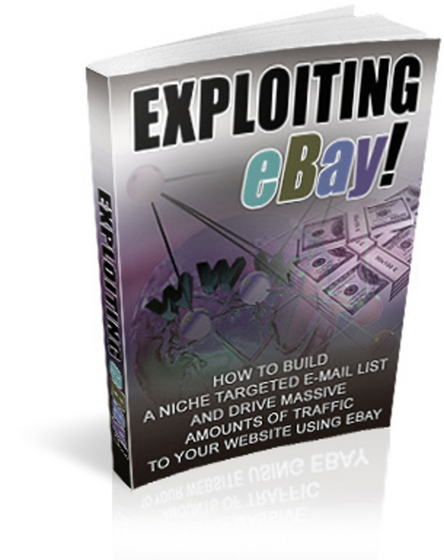 Product picture New Exploiting Ebay with Master Reseller Rights