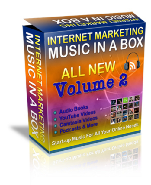 Product picture Internet Marketing Music Volume 2 MRR